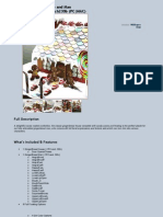 Gingerbread House and Man - Full Description