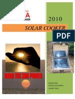 Rudra Solar Box Cooker