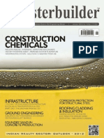 The Masterbuilder_January 2012_Construction Chemicals Special