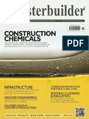 The Masterbuilder_January 2012_Construction Chemicals