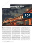 Article on 'Lifetime Engineering for Roads' by Chaitanya Raj Goyal