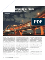 Article on 'Lifetime Engineering for Roads' by Chaitanya Raj Goyal