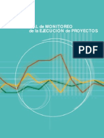 MAnual de monitoreo de la ejecución de proyectos OPS