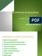Fenestration in buildings