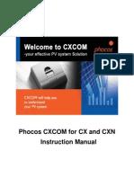 CXCOM Software Instruction ENG