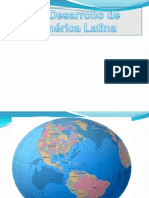 Desarrollo de América Latina ayer y hoy
