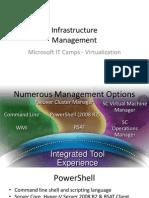 Infrastructure - 3 - Management