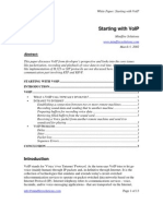 Technical Voice Over IP