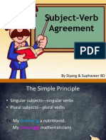 subject-verb agreements