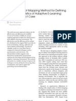 Expert Concept Mapping Method for Definingthe Characteristics of Adaptive E-Learning:ALFANET Project Caseirschner