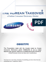 the Korean Takeover LG Samsung Takeover of Indian Markets