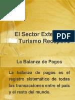 9 El Sector Externo y El Turismo Receptor