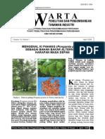 Ki Pahang Sebagai Alternatif Bioenergi
