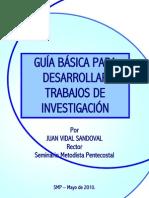 NORMAS PARA TRABAJOS DE INVESTIGACI+ôN SMP