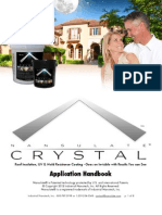 Nansulate Crystal Roof Application Handbook