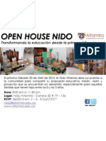 Open House Abril 20.13