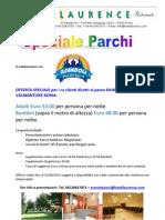 Offerta Speciale Roma & Parchi
