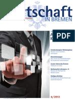 Wirtschaft in Bremen 04/2013 - Auf allen Kanälen