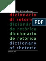 Dizionario Di Retorica 2010