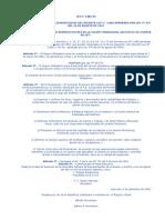 LEY 1085 DEL 65 QUE MODIFICA Y AMPLIA DISPOSICIONES DEL DECRETO-LEY N° 1.860