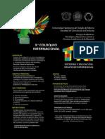 Tercer Coloquio Internacional TIC 2013 UAEM