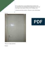 Door Tricks