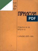 1.- Basler_Djuro_ Proglasenje Bosne Kraljevstvom 1377 g (PIIS XI-XII, 1975-76)