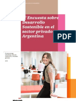 RSE - 3ª Encuesta Sobre Desarrollo Sostenible en Argentina