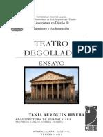 Teatro Degollado Ensayo