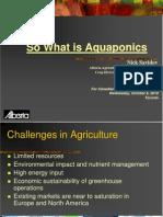 Aquaponics Dr. Savidov2010