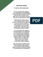 MAJESTAD NEGRA LUIS PALÉS MATOS- PUERTO RICO