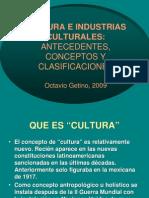 Octavio Getino Cultura e Industrias Culturales