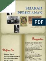 SEJARAH PERIKLANAN