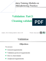 Cleaning Validation 02