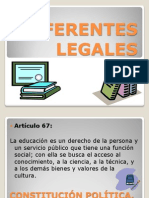REFERENTES LEGALES