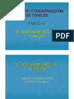 PARTE IV_ EL SOSTENIMIENTO EN TÚNELES