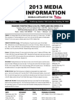 040913 Reading Fightins Game Notes
