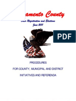 20130225_Sacramento County Procedures for Initiatives and Referenda