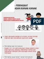 Peringkat- Peringkat Perkembangan Kanak-kanak
