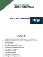 ASP Transparan Manajemen Pemerintahan