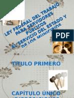 Ley Federal Del Trabajo Para Servidores Publicos Chevez
