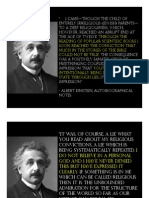 Albert Einstein the Agnostic