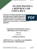 Constitucion Costa Rica