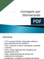 Usinagem por Eletroerosão