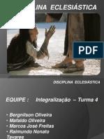 Disciplina Eclesiastica Executavel