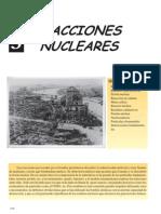 REACCIONES NUCLEARES FISICA Y QUIMICA 2º BACHILLERATO