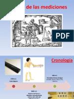 Historia de Las Mediciones