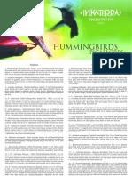Hummingbirds - Colibríes