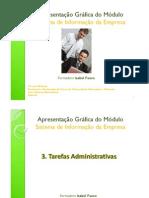 3. SIE - Tarefas Administrativas