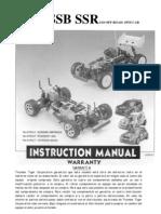 Manual Thunder Tiger SSR